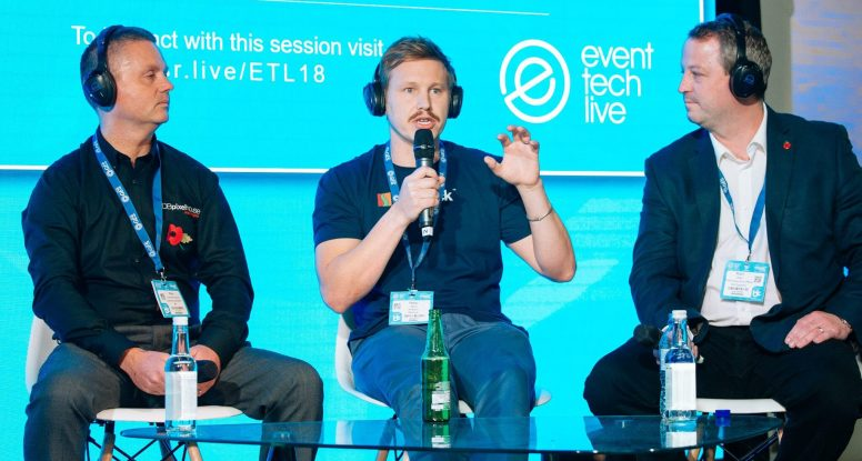 Headsets for Exhibitions - Event Tech Live 2018
